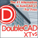 DoubleCAD XT Free - powerful 2D CAD capabilities, with .DWG and .SKP compatibility!