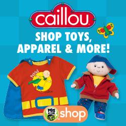 PBS KIDS Caillou Shop