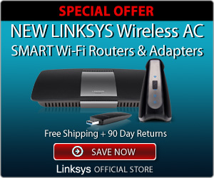 Linksys Wireless AC Routers Adapters