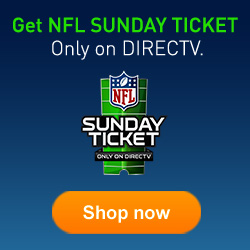 Get NFL Sunday Ticket. Only on Direct TV.