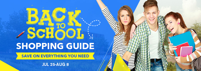 2018 Back To School Shopping Guide