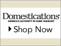 Domestications - 15% Off* your $100 order