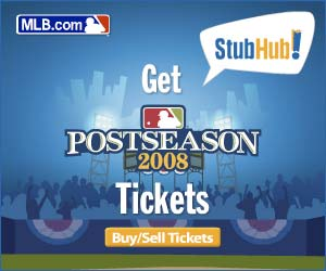 Get MLB Playoff Tickets at StubHub!