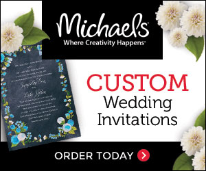 Michaels Custom Wedding Invitations