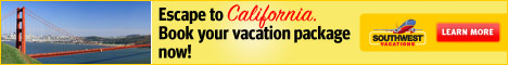 Southwest Airlines Vacations - Escape To California