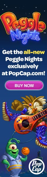 Peggle Nights Exclusively at PopCap Games