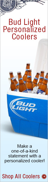 Personalized Coolers at Budshop.com