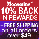 10% Back in Rewards + Free Shipping on orders over $49 at Moosejaw.com