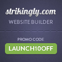 Strikingly - Get 10% off for the best website builder