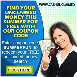 Cash Unclaimed