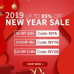 Fresh New Looks for the New Year!Save 85% PLUS $20! NEW Savings: NY5 NY10 NY20 (59-5,90-10,149-20)