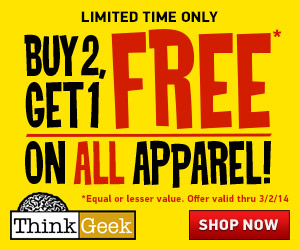 Buy 2, Get 1 Free Apparel