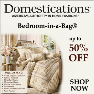 Up to 50% Off Bedroom in a Bag Sets!