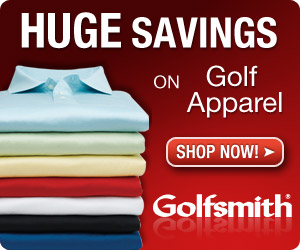 Huge Savings on Golf Apparel at Golfsmith!