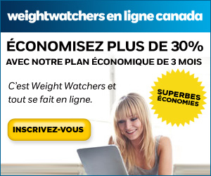 Weight Watchers Canada En Ligne - Economisez plus de 30% avec notre Weight Watchers en ligne coupon/code promotionnel, weight watchers coupons rabais