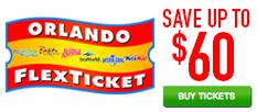 Orlando Flex Ticket Save up to $60!