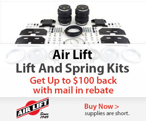 Save up to $100 on select Airlift products