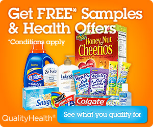 Get free samples and health offers