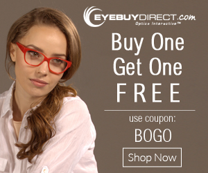 BOGO FREE Prescription Eyeglasses   As Low as $20.90 For Two Pairs!