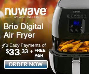 NuWave Brio Healthy Digital Air Fryer
