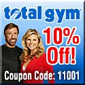 Total Gym Coupon