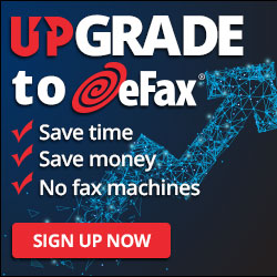 Close the deal with eFax!