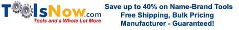 Toolsnow save 40% banner