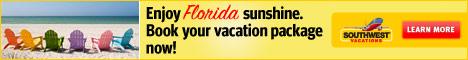 Southwest Airlines Vacations - Enjoy The Florida Sunshine