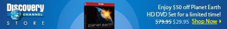 Planet Earth HD DVD Set $29.95!
