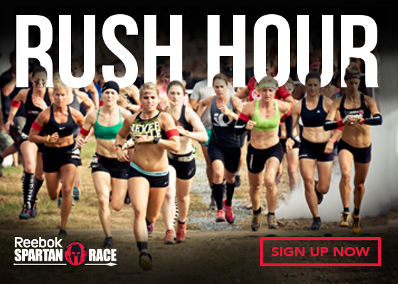 SHOW UP! SIGN UP. DON'T GIVE UP! Sign up for a Reebok Spartan Race!