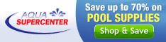 Aquasupercenter 234x60 pool supplies