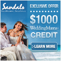 Sandals & Beaches Resorts $1000 instant Wedding Credit