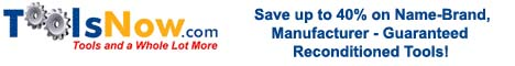 Toolsnow Save up to 40% on Name-Brand Tools