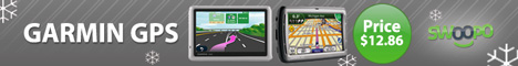 Garmin, TomTom and other GPS at Swoopo!