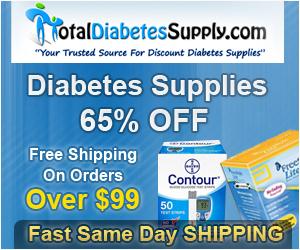 Start Saving Now on Diabetes Supplies