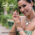 Carolyn Pollack Jewelry Trumpet Vine collection, made in America