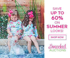 smocked auction ad