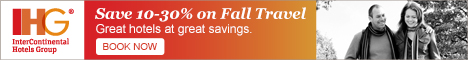 Book Early & Save up to 20% Off IHG hotels today!