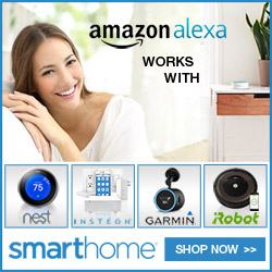 Amazon Alexa 'works with' at Smarthome.com - shop now!