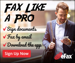 Start faxing with eFax - the #1 Electronic Fax!