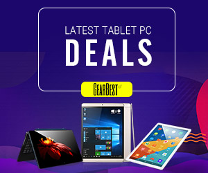GearBest Tablet PC Banner