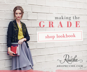Ruche Back to School Lookbook