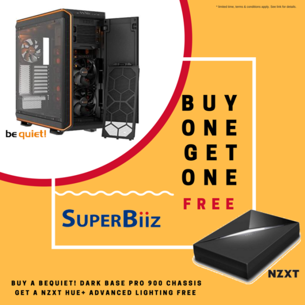 FREE NZXT Gift w/ bequiet! Case purchase