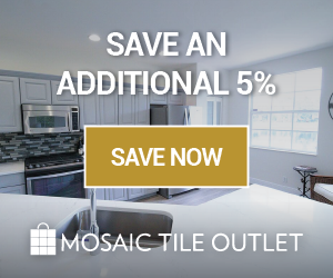 Mosaic Tile Outlet coupons