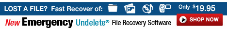 Lost a File? Recover it Fast. Learn More