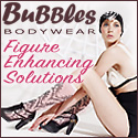 Curve Enhancing Solutions by Bubbles Bodywear