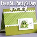 Download a free St. Patrick's Day greeting card!