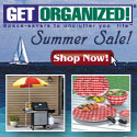 Get Organized - Home Organization, Space Savers for Home, Kitchen, Garage, Office, Yard, Closets, Jewelry, Shoes & more