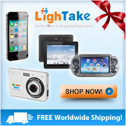 Save on all your gifts and even stocking stuffers at LighTake.com!