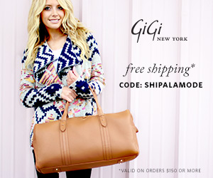 GiGi New York Henley Duffle